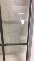 Window Pane 41x20 - has crack in one