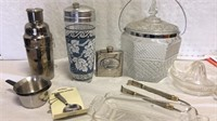 Vintage and Assorted Barware