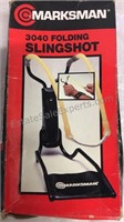 Marksman Folding Slingshot & Safety Belt