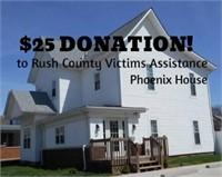 Rush County Victims Assistance (RCVA) Online Benefit Auction