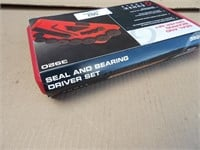 Seal & bearing driver set with case