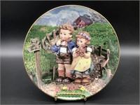 Hummel Country Crossroads Porcelain Plate
