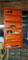Metal 2 door wall storage cabinet, 13 x 30.5 x35,