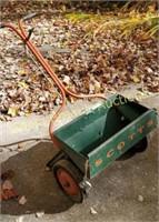 Vintage Scott's metal lawn spreader
