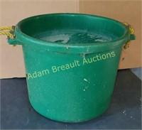 Plastic two-handled livestock tub