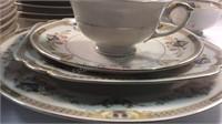 Baronet Melody Dinnerware Set- 12 Dinner Plates,