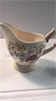 Vernon Kilns May Flower Cream and Sugar and