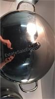 Large Farberware Stock Pot & Fry Pan