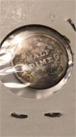 US 1838 Seated Liberty Half Dime