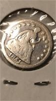 US 1851 Seated Liberty Half Dime