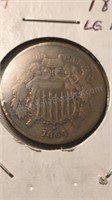US 1864 Two Cent