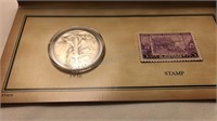 1936 Historic Walking Liberty Stamp & Coin Set