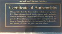 US Treasury Silver Dimes Set
