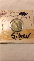 US/Philippines 1944 Silver Dime