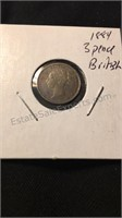 Assorted Antique British Coins