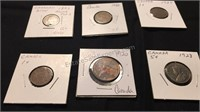 Assorted Canadian Coins