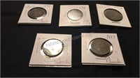 Assorted Antique Canadian Coins