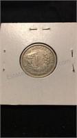 US 1883 Liberty No Cents Nickel