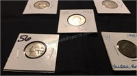 Assorted US Quarters & Nickels