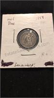 US 1859 Half Dime