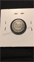 Pair of US Seated Liberty Dimes