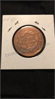 Pair of US Large One Cent
