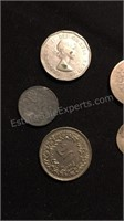Assorted US & Foreign Coins