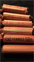 Penny Rolls & Assorted US and Canadian