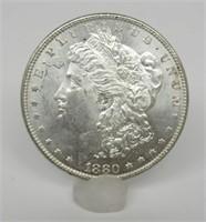 1880-P US Morgan Silver Dollar