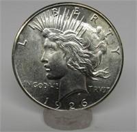 1926-S US Peace Silver Dollar