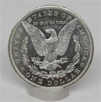 1881-S US Morgan Silver Dollar