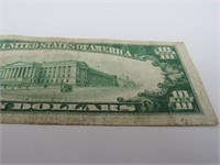 "1929 US $10 ""Richmond""National Currency Brown Note"