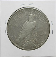 1935-S US Peace Dollar