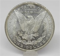 1885-P US Morgan Silver Dollar
