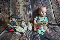 Lot of Collectibles Vintage Gerber Doll