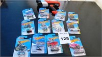 12 Packaged Hot Wheels