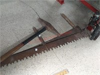 Vintage 2 man saws & railroad spike driver