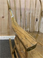 Antique Ash Childs Rocking Chair