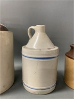 Group of Stoneware Crocks and Jugs