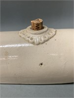 Early Stoneware Bed Warmer