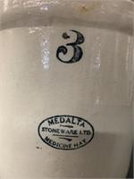 Medalta 3 Gallon Crock with Lid