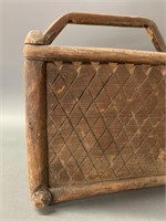 Native American Handled Gathering Box