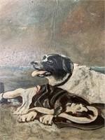 Original John.T.Plowright 1914 Painting