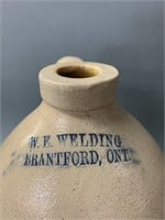 W.E.Welding Brantford Merchant Jug
