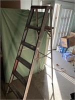 6ft aluminum folding ladder