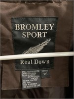 Bromley sport real down coat size xs