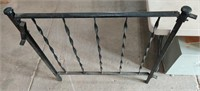 """Wrought Iron Porch Railing 3' Tall x 33"""" wide"""