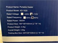 New-1800 watt  Portable Electric Heater