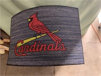 New STL Cardinals rug 27x18in