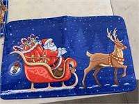 New - Christmas bathroom rugs